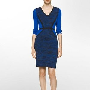 Calvin Klein 3/4 SLEEVE SWEATER DRESS